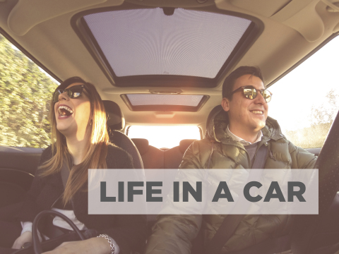 TomTom calls for people to star in its new road movie, 'Life in a Car' (Photo: Business Wire)