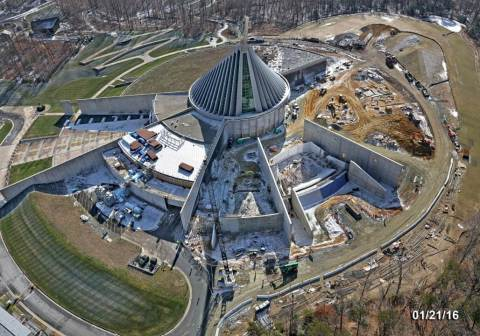 Southland Concrete, a recognized leader in the construction industry, invests $6 million in Prince William County for new Corporate Headquarters. Renowned in the Greater Washington metropolitan area, the company's recent projects include the National Museum of the Marine Corps (pictured here); Novant Health Prince William Medical Center; FBI Training Facility; George Mason University; Jiffy Lube Live; and many others over its 40+ year history. [Photo courtesy of Southland Concrete]