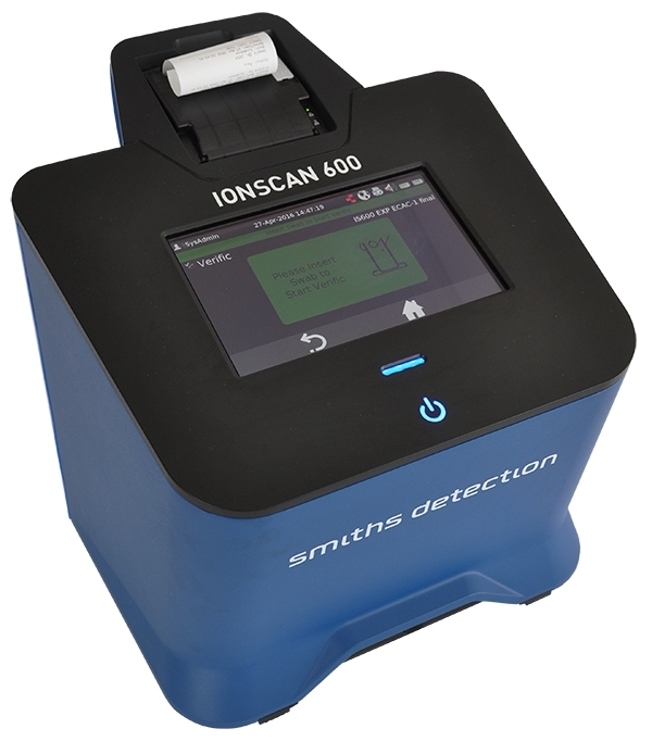 smiths detection extends ionscan 600 capability to detect narcotics rh businesswire com smith detection/ionscan instruction manual smiths ionscan 600 manual
