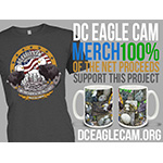 For a limited time, D.C. Eagle Cam viewers can buy a special-edition D.C. Eagle Cam T-shirt and Coffee Mug. 100% of the net proceeds from the sale of these items will support the costs of operating and maintaining this cam project. (Photo: Business Wire)