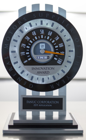 FANUC America Wins General Motors Supplier of the Year Innovation Award (Photo: Business Wire)