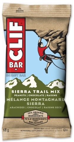 CLIF BAR® Sierra Trail Mix energy bar (Photo: Business Wire)