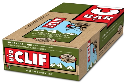 CLIF BAR® Sierra Trail Mix energy bar 12 pack (Photo: Business Wire)