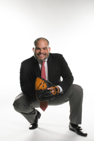 "Baseball Legend Ivan ""Pudge"" Rodriguez, from athlete to businessman. (Photo: Business Wire)"