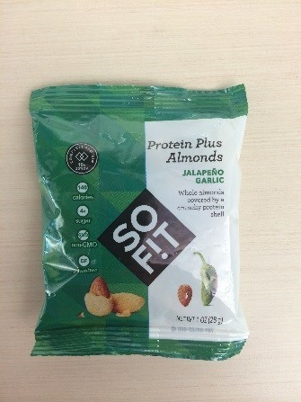 SoFit Protein Plus Almonds Jalapeno Garlic with the following date codes: 72R, 73A, 79R, 82C, 82D