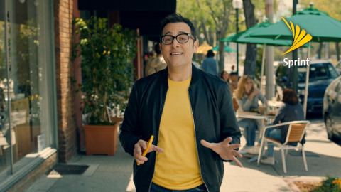 Paul Marcarelli, the guy who used to ask if you could hear me now with Verizon, is appearing in new Sprint advertising (Photo: Business Wire)