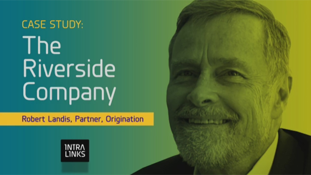 The Riverside Company uses Intralinks to help source deals