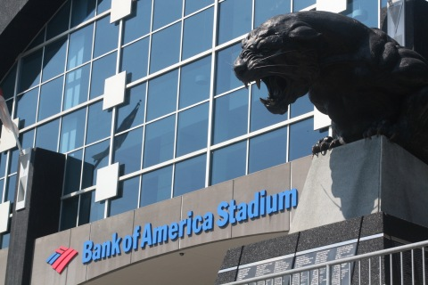 CommScope is supplying equipment and providing on-site technical engineering support to modernize the wireless and wired communications at Bank of America Stadium in Charlotte, North Carolina. (Photo: Business Wire)