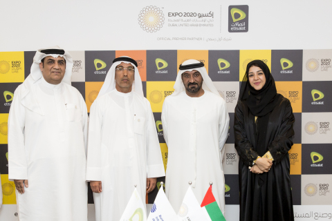 Etisalat Group has been awarded the Telecommunications and Digital Services Premier Partnership for Expo 2020 Dubai (Photo: ME NewsWire)