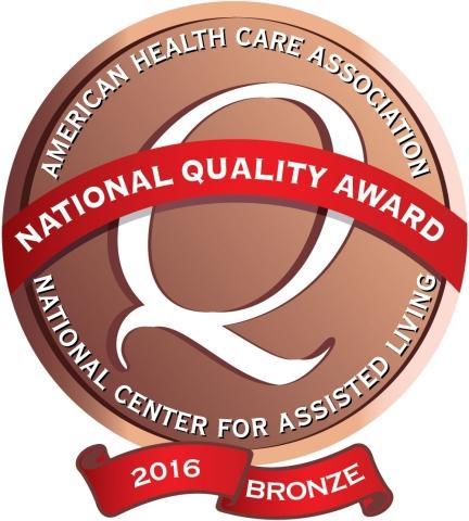 66 Sunrise communities earned AHCA/NCAL's 2016 Bronze National Quality Award (Photo: Business Wire)