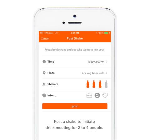 Bottleshake screenshot (Photo: Business Wire)