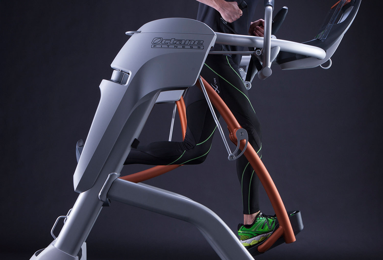 The innovative Zero Runner from Octane Fitness replicates natural running motion but eliminates stressful impact that can cause fatigue, impair form and lead to injuries. (Photo: Business Wire)