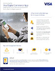 Get all the facts and stats from the Visa Digital Commerce App fact sheet.