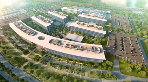 Toyota Motor North America's new North American headquarters, Plano, Texas. (Photo: Business Wire)
