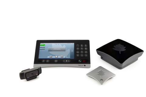 StarLeaf GTm 5250 Skype for Business huddle room system (Photo: Business Wire)