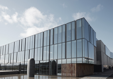 Biotech facility in Iceland (Photo: Business Wire)