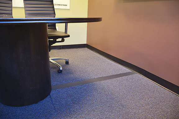 Crestron And Norwood Electric Select Connectrac In Carpet Wireway For  Simple, Flexible And U201cNo Bumpu201d Cable Management Solution For Corporate  Headquarters ...