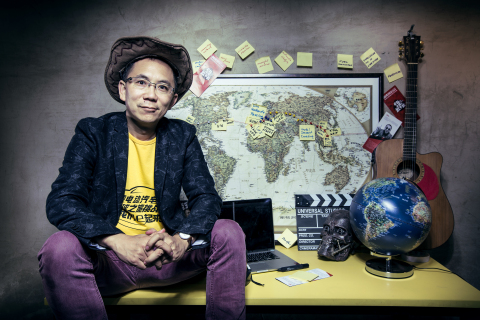 Andrew Yi Zong, 80edays China Team Pilot, PHNIX CEO, and creator of the Fission Startup Method (Photo: Business Wire)