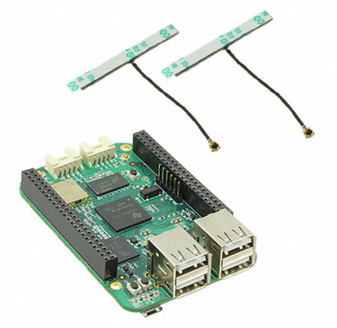Seeed Studio BeagleBone Green Wireless Platform (Photo: Business Wire)