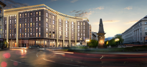 Expected to open in 2018, Hyatt Regency Sofia will be located in the heart of the Bulgarian capital on Vasil Levski Square (Photo Credit: Terra Tour Service EOOD)