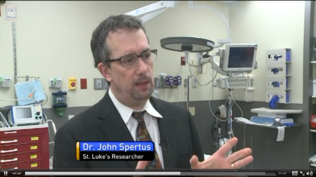 Dr. John Spertus explains how a predictive model is used in the ED for stroke patients.