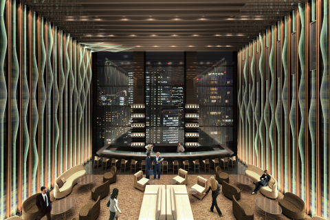 "Sky Lobby (Sky Gallery Lounge ""Levita"") *Example image. (Graphic: Business Wire)"