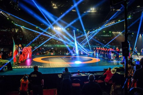 Wrestling Free Style World Cup, Forum Los Angeles (Photo: Business Wire)