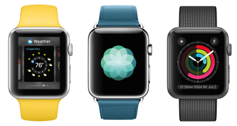 watchOS 3 is faster and simpler with breakthrough health features. (Photo: Business Wire)
