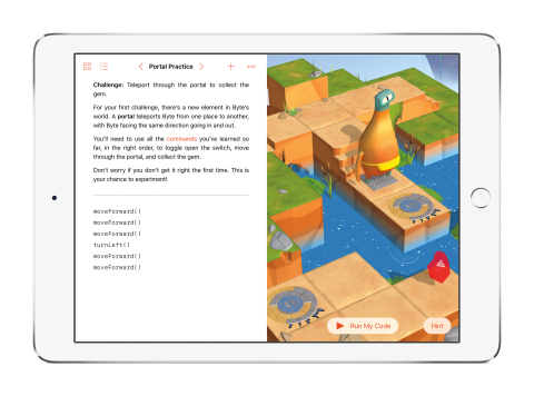 Swift Playgrounds makes learning to code easy and fun. (Photo: Business Wire)