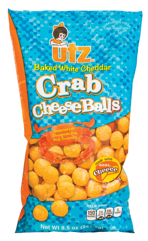 Utz® Chesapeake Bay style Crab Cheese Balls (Photo: Business Wire)