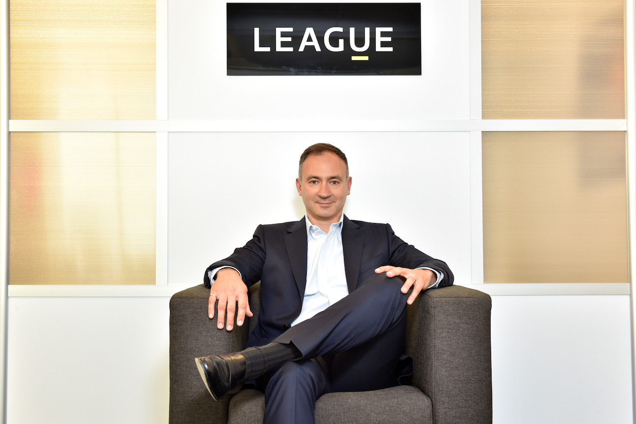 LEAGUE INC. Founder and CEO Michael Serbinis (Photo: Business Wire)