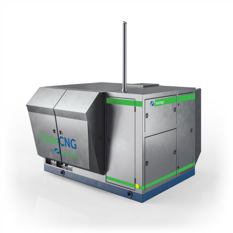 The New CleanCNG Compressor (Photo: Business Wire)