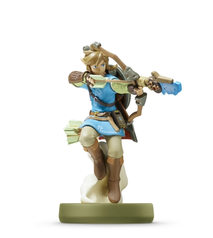 "Nintendo announced a new series of amiibo figures specific to The Legend of Zelda: Breath of the Wild that includes Link with a bow (""Archer""). (Photo: Business Wire)"