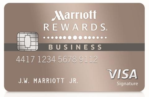 Marriott Rewards Premier Business Credit Card (Graphic: Business Wire)