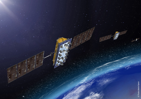 LeoSat Enterprises Satellite Constellation (Photo: Business Wire)