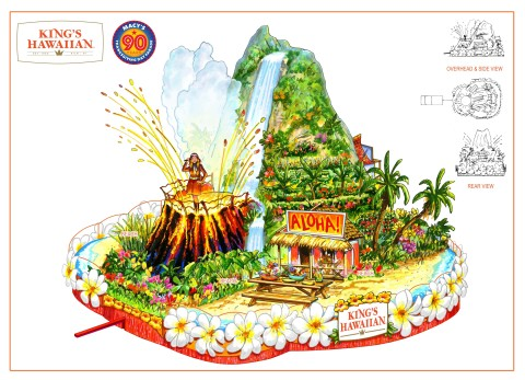 King's Hawaiian is set to debut a new float in the 90th Anniversary Macy's Thanksgiving Day Parade this November. (Graphic: Business Wire)