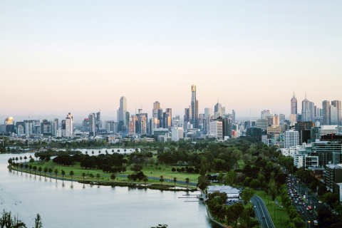 Melbourne city skyline (Photo: Business Wire)
