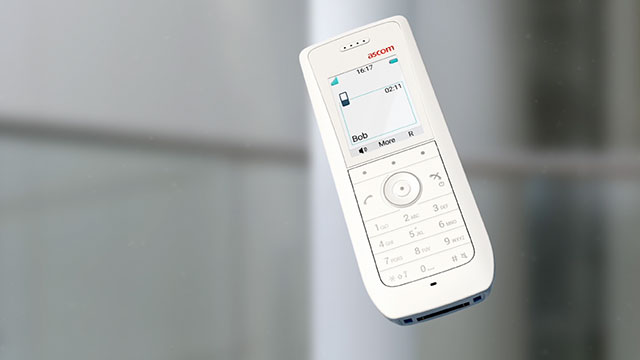 Ascom enhances DECT product range with new handsets, new features