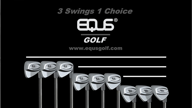 "EQUS Golf, ""the next evolution in single length golf clubs,"" debuts this fall."