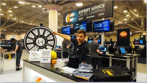 Newegg joins the festivities at this weekend's Wizard World comic con and gaming event in Sacramento (Photo: Business Wire)