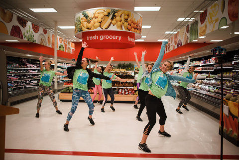 Fitness Flash Mob. (Photo: Business Wire)