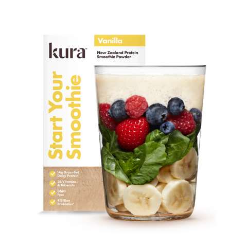 Kura New Zealand Protein Smoothie Powder (Photo: Business Wire)