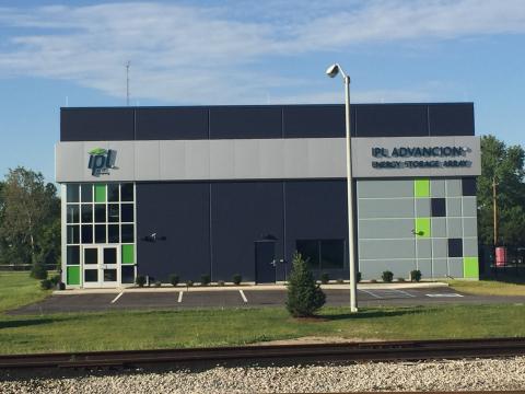 Photo of the IPL Advancion® Energy Storage Array (Photo: Business Wire)