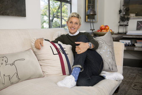 PetSmart Inc., the leading pet specialty retailer in North America, has entered an exclusive partnership with Ellen DeGeneres' lifestyle brand, ED, through Posh Paws of New York City. (Photo: Business Wire)