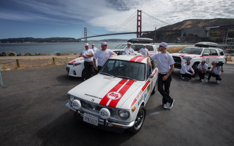 The Great Race Toyota Racing Team (Photo: Business Wire)