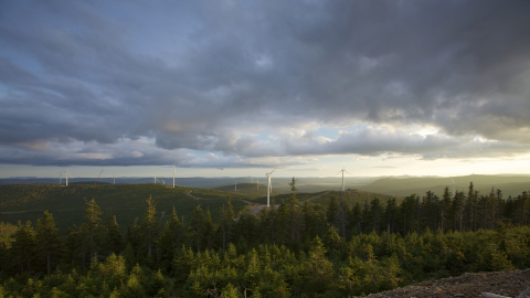 Mont Rothery Wind Farm (74 MW) in Quebec (Photo: Business Wire)