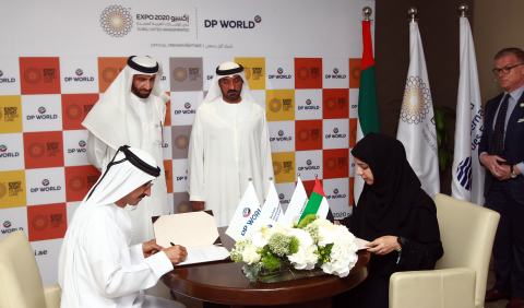 The partnership with global trade enabler DP World will help Expo 2020 Dubai to promote a future of Mobility, Opportunity and Sustainability (Photo: ME NewsWire)