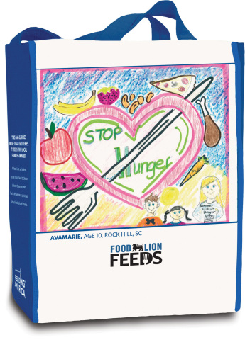 2016 Food Lion Feeds Reusable Bag - Front Cover (Photo: Business Wire)