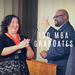 Jack Welch MBA Graduation highlights, featuring Honorary MBA Kirk Cousins.