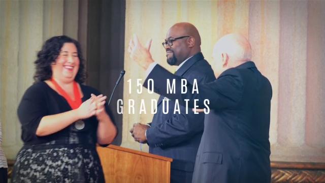 Jack Welch Management Institute Hosts Inaugural Graduation Ceremony